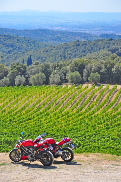 Tuscan Wine Country